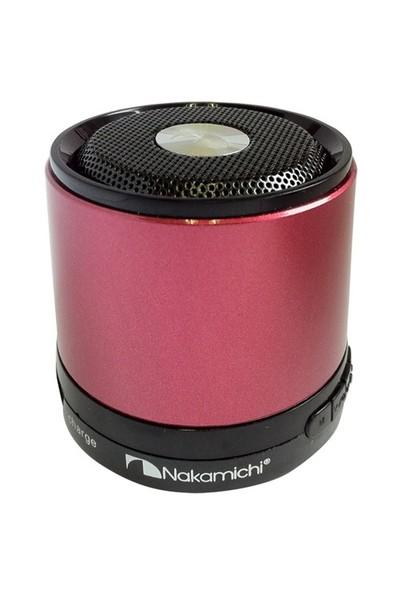 Nakamichi NBS2 (Kırmızı) Mini Bluetooth Hoparlör