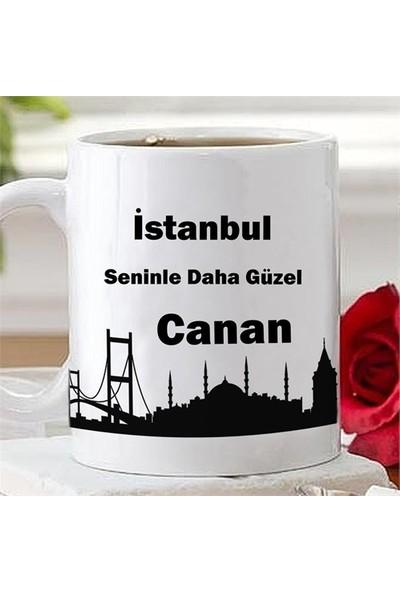 Kişiye Özel Kupa - İstanbul Seninle Daha Güzel
