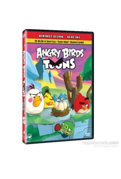Angry Birds Toons Season 1 Volume 2 (Angry Birds Sezon 1 Seri 2) (Blu-Ray)