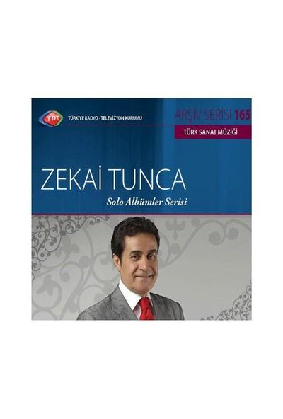 TRT Arşiv Serisi 165: Zekai Tunca - Solo Albümler Serisi (CD)