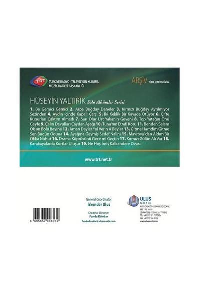 TRT Arşiv Serisi - 207 / Hüseyin Yaltırık (Solo Albümler Serisi) (CD)