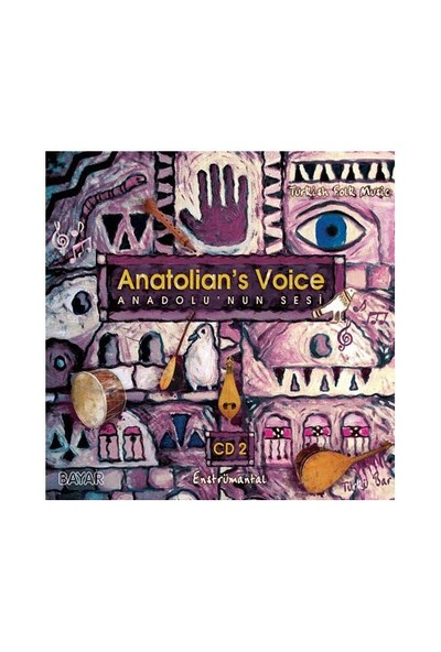 Anatolian's Voice (Anadolu'nun Sesi 2) (CD)
