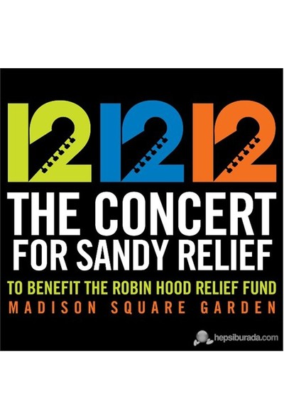 Various Artists - The Concert For Sandy Relief (2 CD)