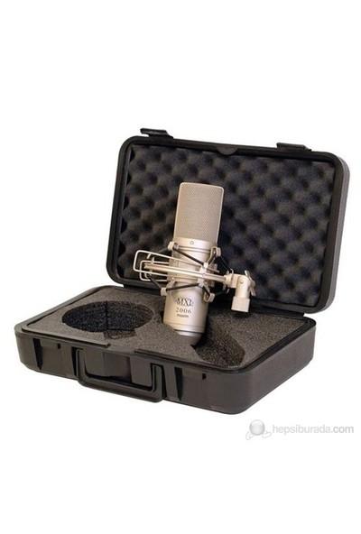 MXL Microphones 2006 1 inç Altın Diyafram Kapasitif Mikrofon