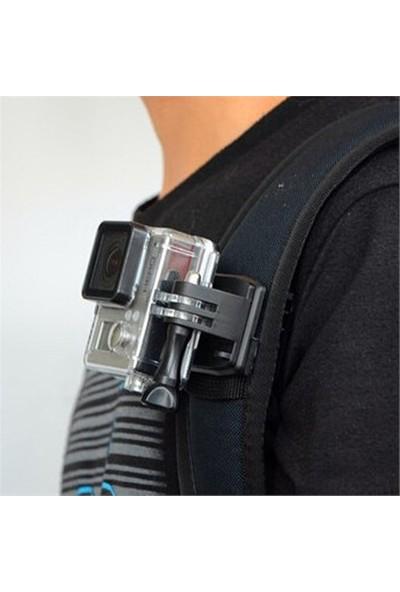 Knmaster Sjcam 360 Derece Dönebilen Klips Kelepçe Aparatı