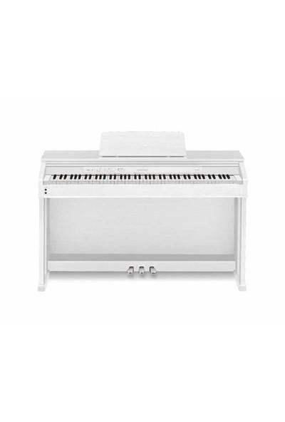 Casio AP-470 Dijital Piyano (Mat Beyaz) (Tabure Hediyeli)