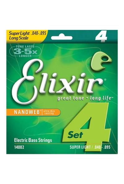 Elixir 14002 Super Light Nikel Bas Gitar
