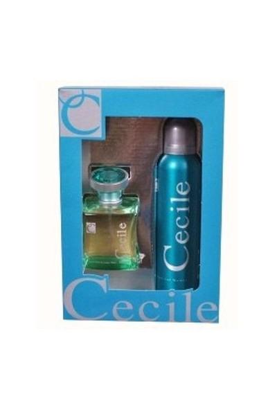 Cecile Iris Edt 100 Ml Kadın Parfüm + Deodorant Set
