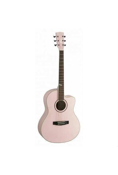 Cort Jade2-Ppm Akustik Gitar Pembe