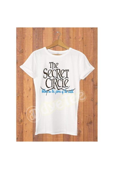 Dyetee The Secret Circle Bayan T-Shirt