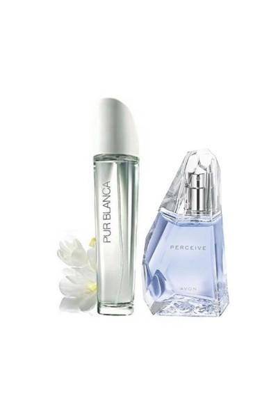 Avon Perceive Edp 50 Ml Pur Blanca Edt 50 Ml Bayan Parfüm