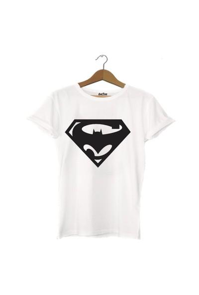 Dyetee Batman Vs Superman Bayan T-Shirt