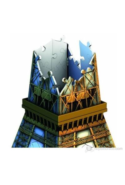 Ravensburger 3 Boyutlu 216 Parçalı Plastik Puzzle Eyfel Kulesi-125562