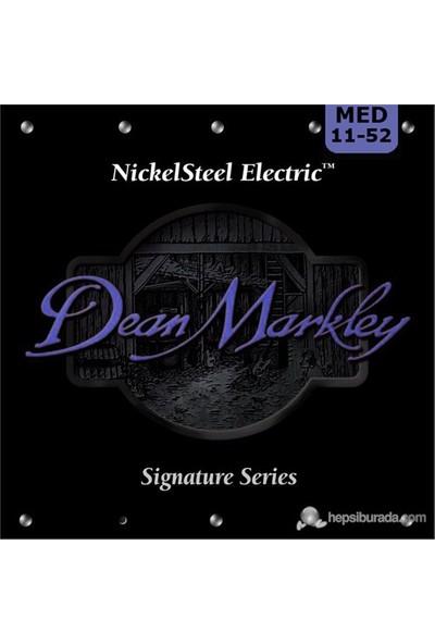 Dean Markley Nickelsteel Electric - Med Elektro Gitar Telleri