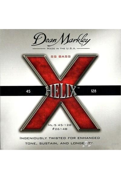 Dean Markley Helıx Ss Bass 5-Stg - Ml Bas Gitar Telleri