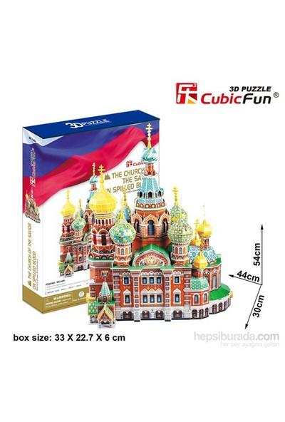 Cubic Fun 233 Parça Voskresenia Khristova Kilisesi 3 Boyutlu Puzzle