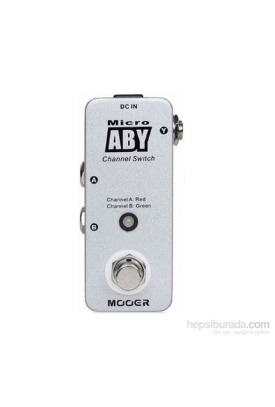 Mooer MAB1 Micro Aby Box Footswitch