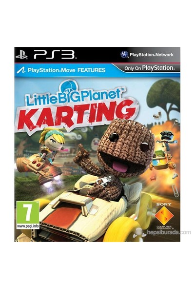 LittleBig Planet Karting/EXP PS3