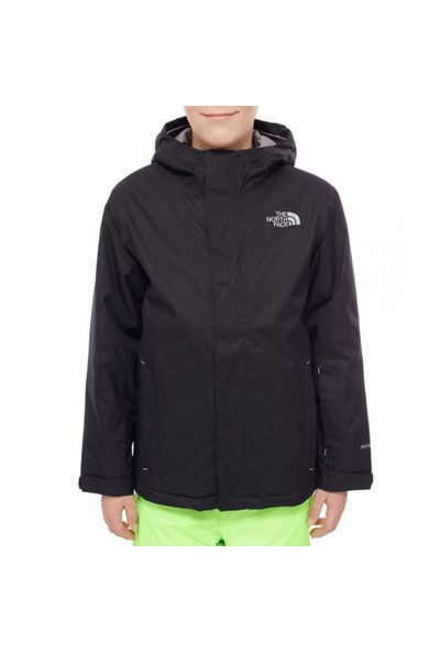 The North Face - Y snowquest jacket Çocuk Mont (fw17) Siyah