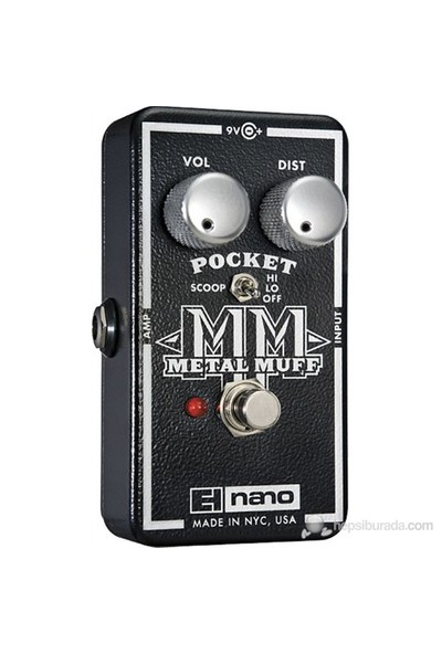 Electro-Harmonix Pocket Metal Muff - Distortion Pedalı