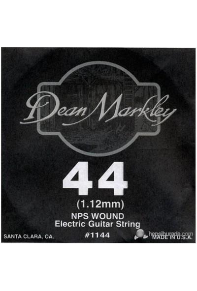 Dean Markley Nickel Steel Wounded .044 Elektro Gitar Telleri