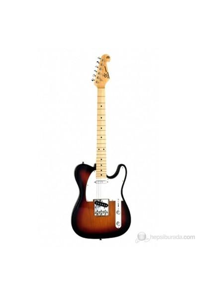 SX STL ALDER 3TS Telecaster Elektro Gitar