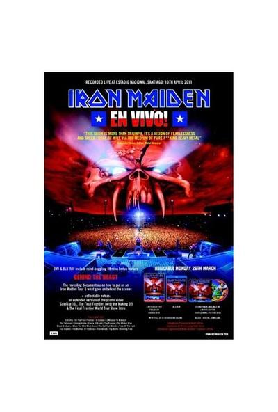 Iron Maiden – En Vivo Live in Santiago (2CD)