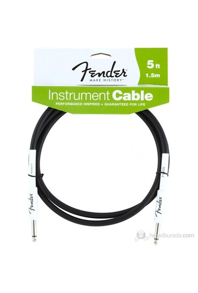 Fender 5 Performance Series Instrument Cable, BK
