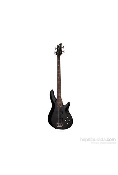 Schecter C-4 SGR Bas Gitar (Gloss Black)