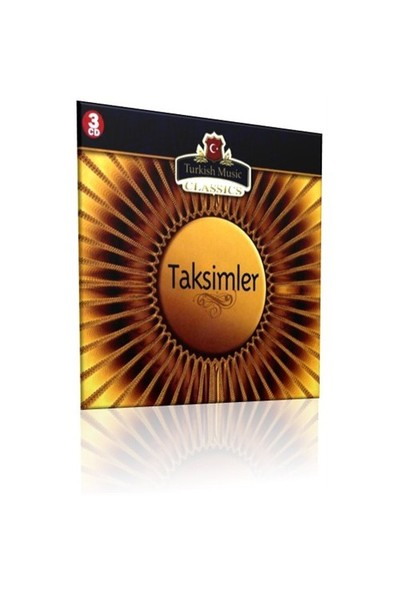 Taksimler - Türk Sanat Müziği (3 CD)