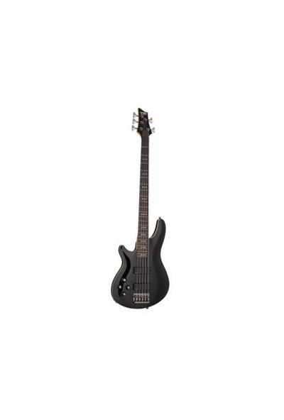Schecter Omen 5 BLK Solak Bas Gitar