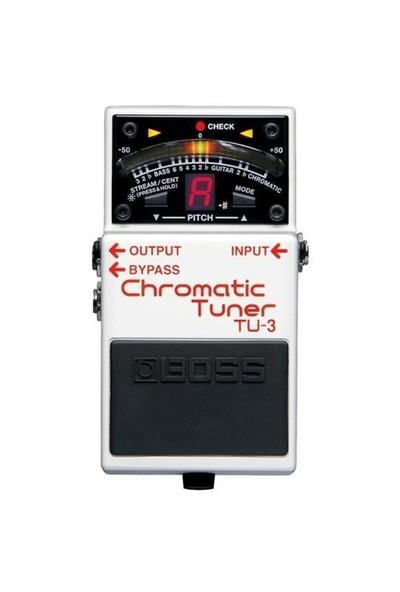 Boss Tu-3 Chromatic Tuner Bas Ve Elektro Gitar İçin