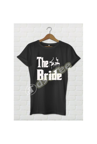 Dyetee The Bride Bayan T-Shirt