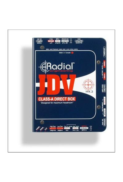 Radial Jdv Aktif Dı Box