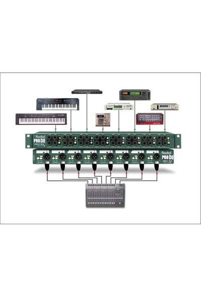 Radial Pro D8 Klavyeler İçin ( Kanal Dı Box