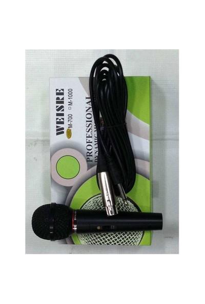 Mikrofon Weisre Wm-700 Kablolu
