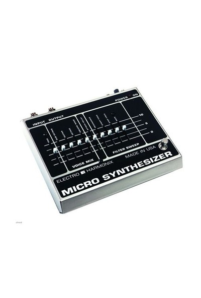 Electro-Harmonix Micro Synthesizer XO Analog Synthesizer Pedalı