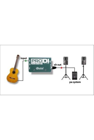 Radial Pro Dı Pasif Dı Box