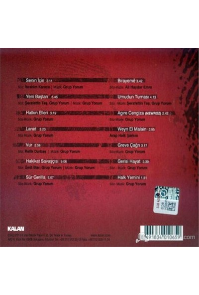 Grup Yorum - Halkın Elleri (CD)