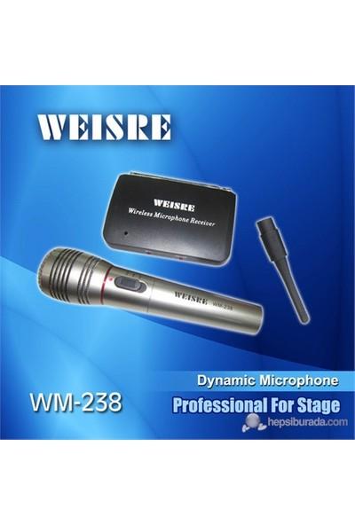 Weisre Wm-238 Kablosuz Mikrofon