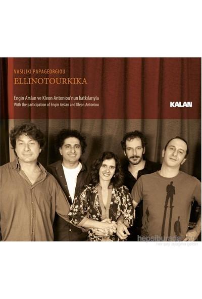 Vasiliki Papageorgiou - Ellinotourkika (CD)