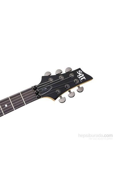 Schecter SGR C-1 FR Elektro Gitar (Midnight Satin Black)