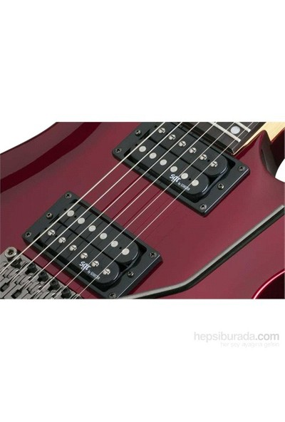 Schecter SGR C-1 FR Elektro Gitar (Metallic Red)