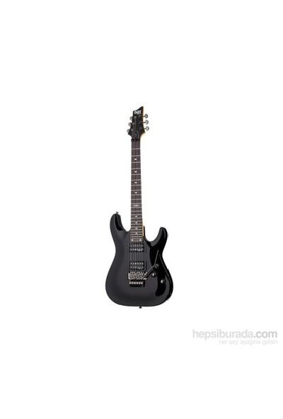 Schecter SGR C-1 FR Elektro Gitar (Gloss Black)