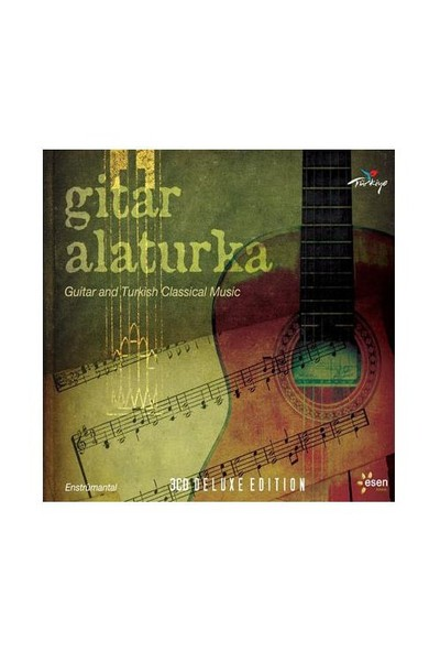 Gitar Alaturka - Guitar And Turkish Classical Music (3CD)