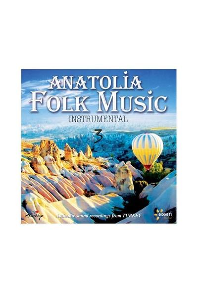 Anatolia Folk Music - Instrumental 3 (CD)