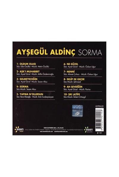 Ayşegül Aldinç - Sorma ( CD )