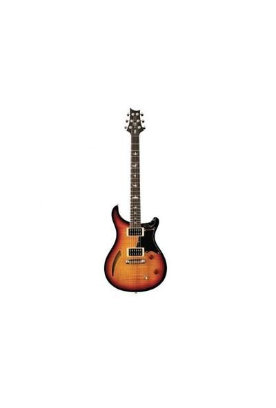 PRS SE Custom Semi-Hollow Elektro Gitar (Vintage Sunburst)