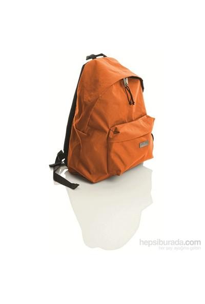 Faber-Castell Basic Sırt Çantası Düz Renk Turuncu