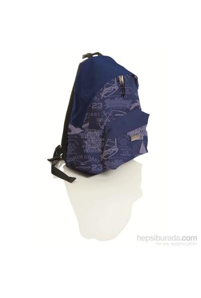 Faber-Castell Basic Sırt Çantası Desenli Marine
